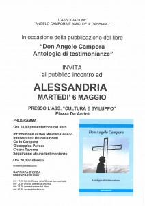 6 Maggio 2014 Don A.Campora Antologia di testimoninze