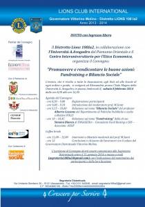 Convegno Bil Soc 2014