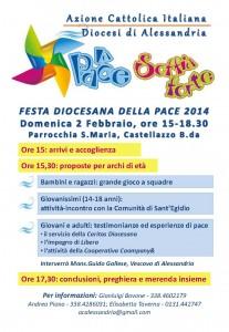 Volantino Pace 2014