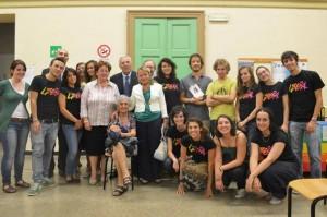 presidio Acqui con famiglia Saetta e Prefetto Tafuri