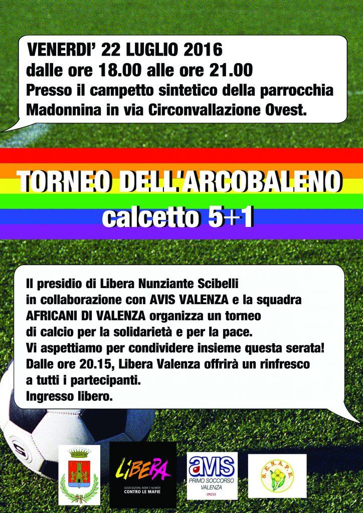 torneo arcobaleno campo calcio